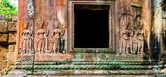 Detail devatas on Ta Kou Entrance to Angkor Wat Cambodia -10a (Yasu Torigoe) Tags: sony a99ii a99m2 sonyilca99m2 camboya cambodia angkor siem templo temple khmer architecture ancient ruins stonework siemreap history histoire building carving art surreal sculpture structure travel archeology thebestshot flickr best buddha buddhist hindu shiva devatas deity