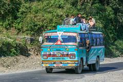 Pokhara (RunningRalph) Tags: bus nepal sarangkot pokhara westerndevelopmentregion np