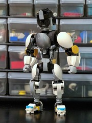 Robot 2018 (work in progress) (Alex Kelley) Tags: lego moc robot toy design mech mecha afol