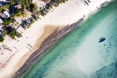 Belo from Above (davе) Tags: madagascar africa 2018 mavicair aerial drone beach sea water coast belosurmer boat sand