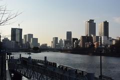 osaka1290 (tanayan) Tags: urban town cityscape osaka japan nikon v3 大阪 日本 yodo river