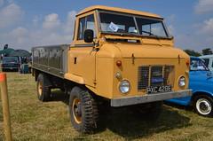 (Sam Tait) Tags: 1967 diesel perkins rempstone steam country vintage fair show 2018 land rover 4x4 forward control yellow