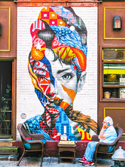 "Audrey Hepburn, by Tristan Eaton, at 176 Mulberry Street, NYC - July 2018 • <a style=""font-size:0.8em;"" href=""http://www.flickr.com/photos/134414577@N06/43495371722/"" target=""_blank"">View on Flickr</a>"
