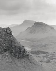 Quiraing (buriburizaemon1) Tags: 100asa acros filmphotography mamiya7 blackandwhite landscape scotland skye yellowfilter