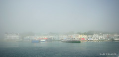 Morning Light (mswan777) Tags: 1020mm sigma d5100 nikon sunlight morning history scenic island mackinac seascape dock travel boat ferry mist fog outdoor architecture city building harbor