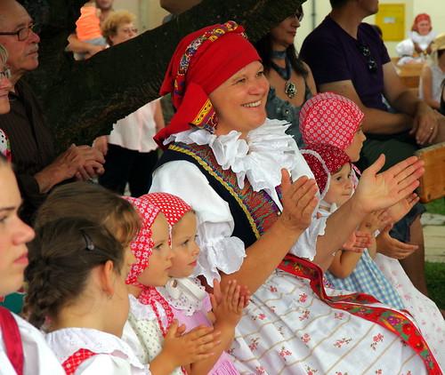21.7.18 Jindrichuv Hradec 4 Folklore Festival in the Garden 229