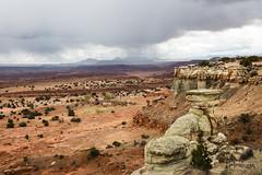 Sand Bench, Orangeville, Utah (Don Dunning) Tags: canon5dmarkiii canonef2470mmf28liiusm desert orangeville sandbench storm unitedstates utah