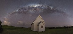 Rural Setting (Antony Eley) Tags: astrophotography milkyway stars arch church lonely rural historic nature night