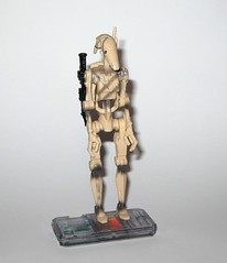 battle droid sliced version star wars episode 1 the phantom menace collection 1 basic action figures 1999 hasbro f (tjparkside) Tags: battle droid sliced version star wars episode 1 phantom menace collection basic action figures 1999 hasbro slash slice damage droids one tpm figure versions variant variants backpack blaster pistol pistols blasters trade federation army foot soldier soldiers commtech chip display stand base roger
