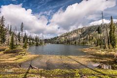 Hard Creek Lake (JGemplerPhotography) Tags: mccall lake water mountain