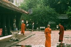 85220018 (alexjamesgray27) Tags: temple thailand monks rain chiangmai buddhism 35mm filmphotography fujifilm travel