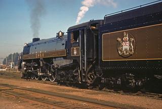Royal Hudson to Squamish 1974 (No.3 of 5)