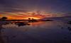 Sunset (_N@ren_) Tags: island seascape travel escape destination tourism world clouds dramatic sunset dusk evening colors water reflection coast
