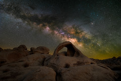 Scorpius Arch (RyanLunaPhotography) Tags: california fuji fujifilm nationalpark scorpiusarch socal southerncalifornia xt2 astrophotography desert landscape milkyway night ngc joshua tree