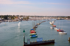 Welcome to Lymington (Caulker) Tags: town lymington marina sea boats