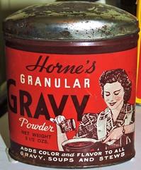 Vintage tinned gravy powder (Will S.) Tags: mypics vintage tin gravy powder laurierhouse parkscanada nationalhistoricsite museum