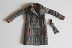 My first hm coat! :D (Mrs.Gataguk) Tags: barbie doll dollcoat handmade