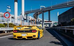 Japan 2018 (Alex Penfold) Tags: japan tokyo 2018 alex penfold supercars super car cars autos ferrari f50 yellow red white