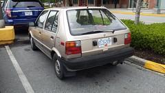 1990 Nissan Micra (Foden Alpha) Tags: nissan micra el237p