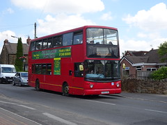 DW Coaches Y529UGC Old Tupton (Guy Arab UF) Tags: dw coaches y529ugc daf sdb250 alexander alx400 bus old tupton derbyshire buses arriva london south dla315