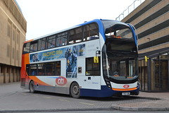 Stagecoach East 10875 YX67VDM (Will Swain) Tags: peterborough 3rd april 2018 bus buses transport travel uk britain vehicle vehicles county country england english east station stagecoach 10875 yx67vdm