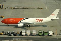 TNT Airways Airbus 300 B4-203(F) OO-TZC (c/n 210) (Manfred Saitz) Tags: vienna airport schwechat vie loww flughafen wien tnt airways airbus 300 a300 ootzc ooreg