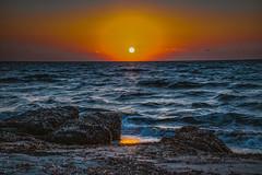 (dastine) Tags: kos greece seascape travel island sunset sea water beach blue