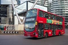 Arriva London HV87 (cybertect) Tags: 141 arriva arrivalondon carlzeissdistagont35mmf28mm ec1 hv87 lj13fdl london londonboroughofislington londonec1 londonbus n1 oldstreet sonya7ii volvo volvob5lh wrighteclipsegemini2 wrighteclipsegeminiii bus doubledecker roundabout route141