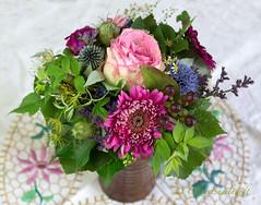 Mein Blumenstrauß zum Geburtstag (olga_rashida) Tags: blumenstraus blumen geburtstagsstraus
