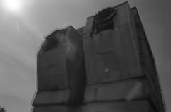 (von8itchfisk) Tags: doubleexposure noedit incamera blackandwhite fomapan derelict factory industrial 35mm olympus om10 vonbitchfisk analog analogphotography film filmisnotdead ishootfilm lensflare selfdeveloped