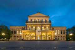 Opera house Hannover (GOFOT) Tags: opernplatz opernhaus hannover landestheater theater operahouse kröpcke blauestunde bluehour sonyilce7m2 walimex14mm