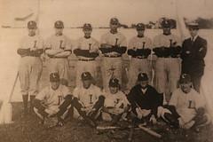 Longwood Baseball Team, c.1918 (Itinerant Wanderer) Tags: pennsylvania chestercounty longwoodgardens