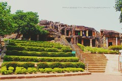 UDAYAGIRI AND KHANDAGIRI CAVES, formerly called KATAK CAVES or CUTTACK CAVES, are partly natural and partly artificial caves of archaeological, historical and religious importance near the city of Bhubaneswar in Odisha, India. . . The caves are situated o (arunpraseeth) Tags: instagood indianphotography cavesofindia indianconstruction art travellers odisha monuments nature caves monumentphotography oldphoto instagram history ancient travelphotography indiandiaries construction fort passion homeforlife