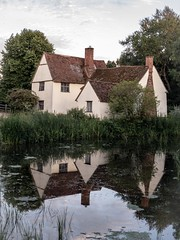 Willy Lott's Cottage (Mohamed Haykal) Tags: willy lotts cottage burnt oak uk england united kingdom mohamed haykal mohamad the hay wain john constable suffolk essex stour river flatford mill east berg holt bergholt landscape famous painting grass sky water tree field iphonex iphone