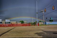 Every Storm has a Rainbow (kendoman26) Tags: hdr nikhdrefexpro2 niksoftware nikon nikond7100 tokinaatx1228prodx tokina tokina1228 stormclouds storm rainbow morrisillinois
