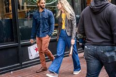San Francisco 2018 (burnt dirt) Tags: sanfrancisco california vacation town city street road sidewalk crossing streetcar cablecar tree building store restaurant people person girl woman man couple group lovers friends family holdinghands candid documentary streetphotography turnaround portrait fujifilm xt1 color laugh smile young old asian latina white european europe korean chinese thai dress skirt denim shorts boots heels leather tights leggings yogapants shorthair longhair cellphone glasses sunglasses blonde brunette redhead tattoo pretty beautiful selfie fashion japanese eyes bottle yellow star