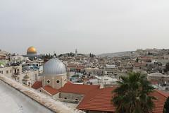 Jerusalem landscape (Ievinya) Tags: roofs jumti mosques mošejas landscape ainava jerusalem jeruzaleme israel izraēla domes kupoli
