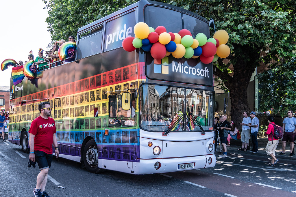 ABOUT SIXTY THOUSAND TOOK PART IN THE DUBLIN LGBTI+ PARADE TODAY[ SATURDAY 30 JUNE 2018] X-100119