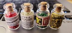 scary vintage medicines (1:6) (Nata Luna) Tags: drugs medicines meds pharmacy diy