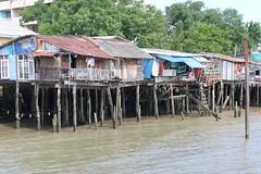 """Bangkok: Khlong houses (Ali Bentley) Tags: bangkok thailand southeastasia klong khlong """"longtail boat"""" house"""
