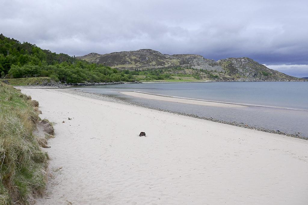 Scotland-Highlands-Gruinard beach-P1080886