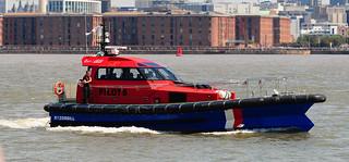 Mersey Pilot boat Razorbill