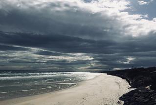Same beach, different day