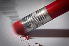 eraser-MM (Uniquva) Tags: macromondays erasers paper pencil red