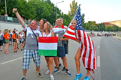 Hungarian and USA Flags ( I do no the rest ) I was just there (misi212) Tags: flags usa hungarian
