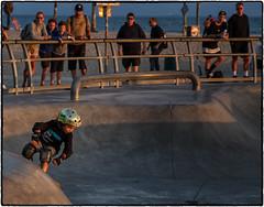 Serious Business ! (drpeterrath) Tags: canon eos5dsr 5dsr skater venicebeach veniceskatepark color outodoor goldenhour losangeles california venice e s t o motion