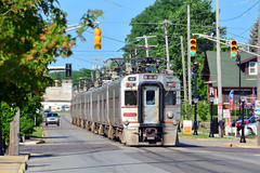 South Shore #43 (Jim Strain) Tags: jmstrain train railroad railway interurban passenger commuter transit nictd indiana michigancity southshore