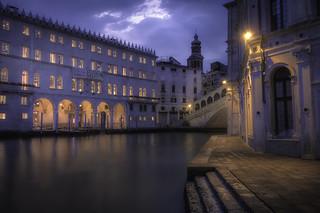 Venetian paths 98(The magic belle of Rialto)
