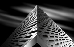 The Broad (Lan-jf) Tags: abstract design modern urban building architecture geometric geometrical inspirational steel artistic architectural background white art exterior pattern up frame black looking lines sky images detail buildingfacade geometriclines lightandshadow geometricaldesign architecturaldetail architectureabstract architecturaldesign blackandwhite buildingcorner buildingexterior symmetricaldesign streetphotography urbanbuilding urbangeometry urbandesign minimaldesign minimalarchitecture modernarchitecture modernart minimalabstract upside minimalistic city minimal grey gray light abstractbackground