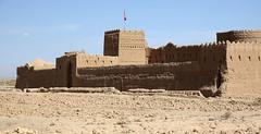 DSC08212 (Dirk Rosseel) Tags: saryazd fort fortress castle adobe yazd iran desert karavanserai limestone